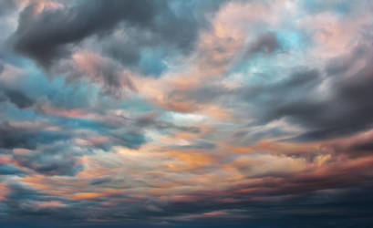 Crazy Skies by ManicHysteriaStock
