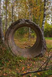 Concrete Circle by ManicHysteriaStock