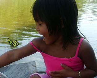 CHILDREN AND NATURE by sinsenor
