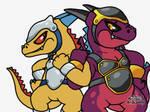 Mandrake Warrior Pals by Hoshino22