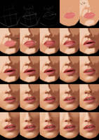 Mouth Tutorial by jht888