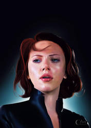 Black Widow by jht888