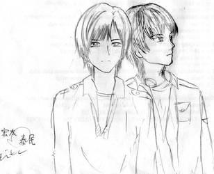 two boys by deFila218