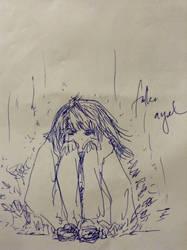 The Fallen Angel by deFila218