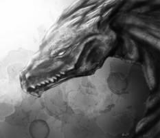 Dragon by Sanguynne