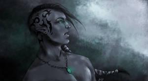 Dark Elf by Sanguynne