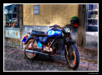 Old Bike HDR by Leeby