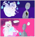 Boosette starts haunting you. What do? by s0s0chan