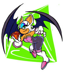 Rouge The Bat by TH3GADFLYINFLIGHT