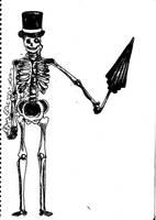 Skeleton by Ummmbrella