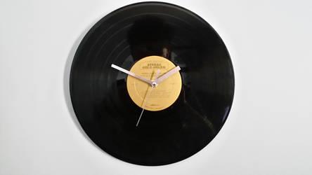 gold vinyl clock by Tech-Tonic