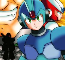 Megaman X by CheloStracks