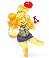 Isabelle~ by CheloStracks