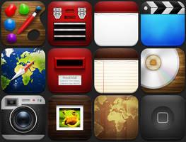 Tryst iPad Theme by Friggog