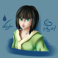 Natasha portrait by C3WhiteRose