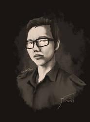 C3 self-portrait 2018 by C3WhiteRose