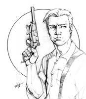Malcolm Reynolds sketch by KFelton
