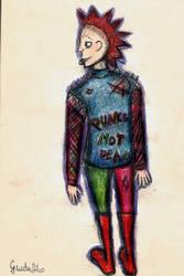 Punk's not dead by guodaaiko