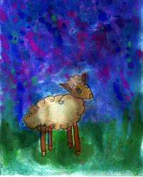 Sheep by guodaaiko