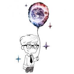 Space Ballon by octhaa