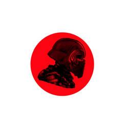 Kylo Ren logo by octhaa