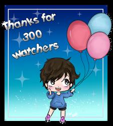 300 watchers DA by ForgottenWinds