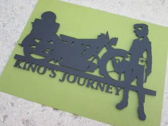 Kino's Journey Cutout by kaztielkrafts
