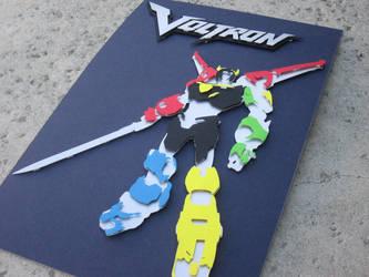 Voltron Cutout by kaztielkrafts