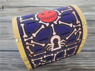 Halloween Town treasure chest by kaztielkrafts
