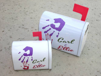 Tin UP mailboxes by kaztielkrafts