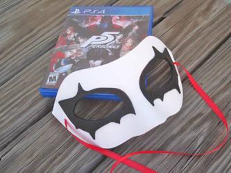 Persona 5 wearable Joker mask by kaztielkrafts