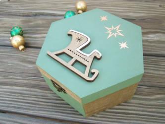 Christmas Eve Box by kaztielkrafts