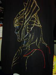 Thor shirt final by Sierraness23