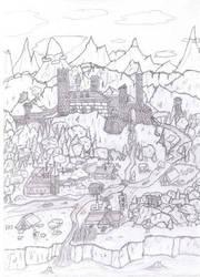 Castle by Hingetsugu