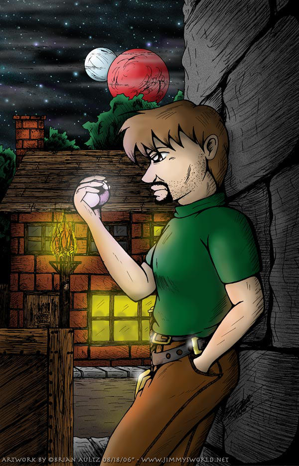 Talasman in the Night by JimmyDrawsArt
