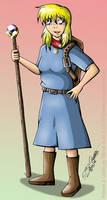 Ella Linsdack Character Design by JimmyDrawsArt
