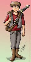 Lyle Lemene Character Design by JimmyDrawsArt