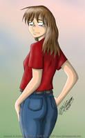 Standing Behind Lisa by JimmyDrawsArt