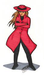 Carmen Sandiego by JimmyDrawsArt