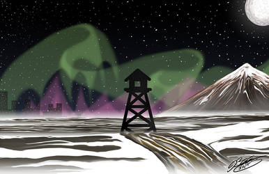 The North Lookout by JimmyDrawsArt