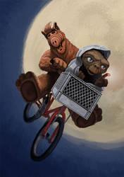 'E.T. Phone Melmac' by supernator13