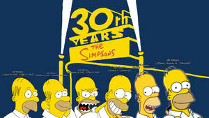The Simpsons 30th years: Homer Evolution by HakunaMatata15