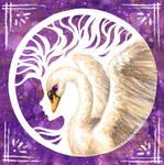 Swan by Loonaki