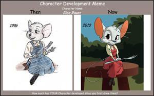 Character Dev Meme:  Elise by Sankam