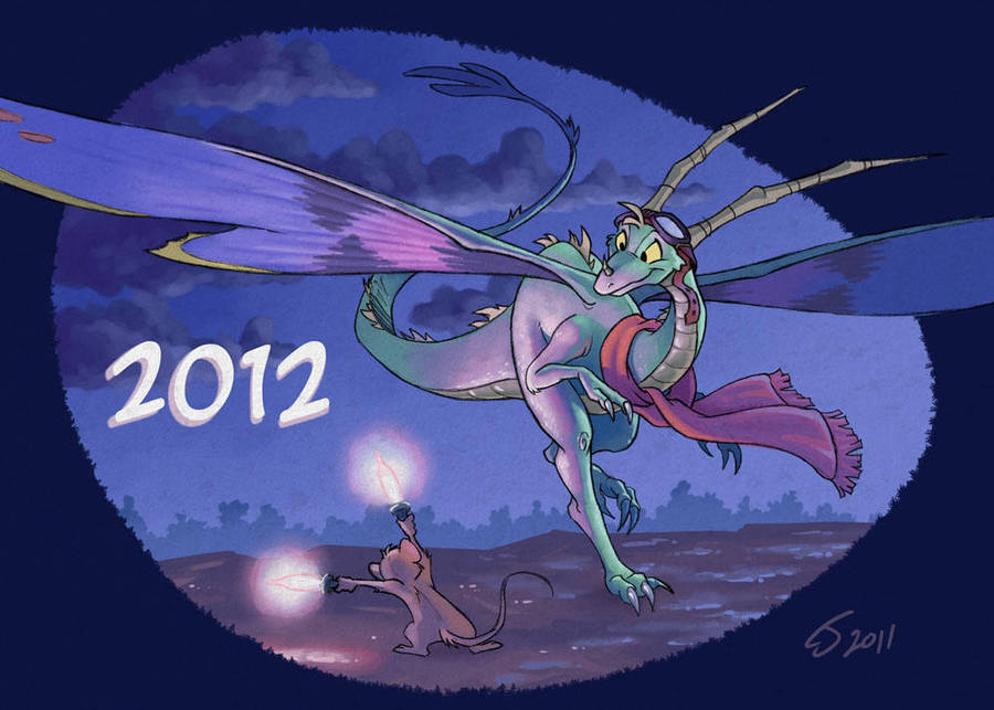 Happy Year of the Dragon by Sankam