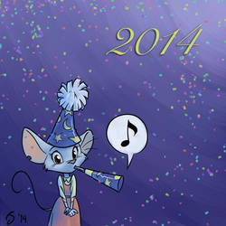 Happy New Year! by Sankam