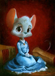 Elise Portrait by Sankam