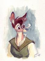 Moira Watercolor by Sankam