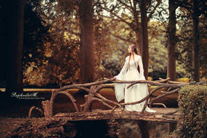Lady of the Golden Wood by RaphaelleM