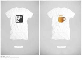 Pixel Tees - 2 by freakyframes